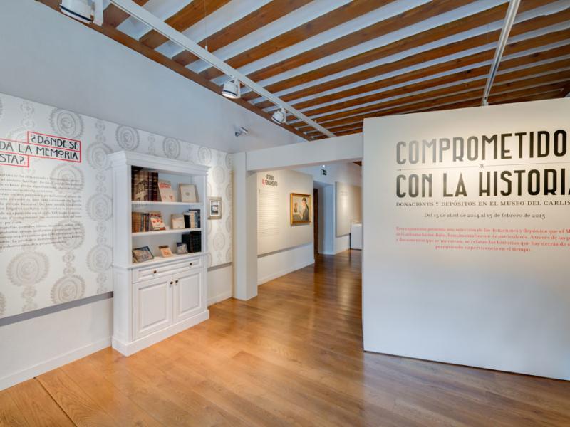 Exposición «Comprometidos con la historia»