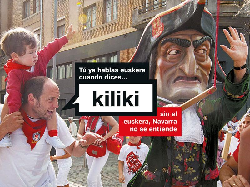 Campaña «Tú ya hablas Euskera cuando dices…»