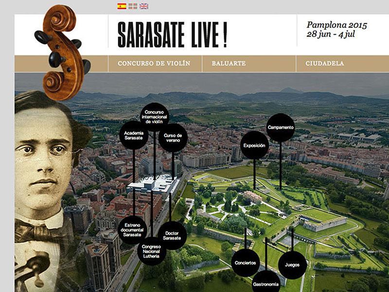 Web Sarasate Live!