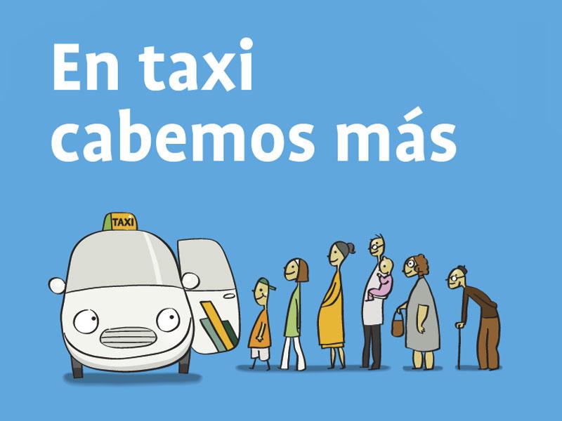Campaña «En taxi, mucho mejor»