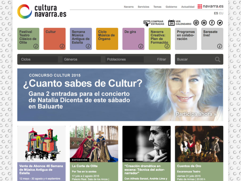 Web CulturaNavarra.es