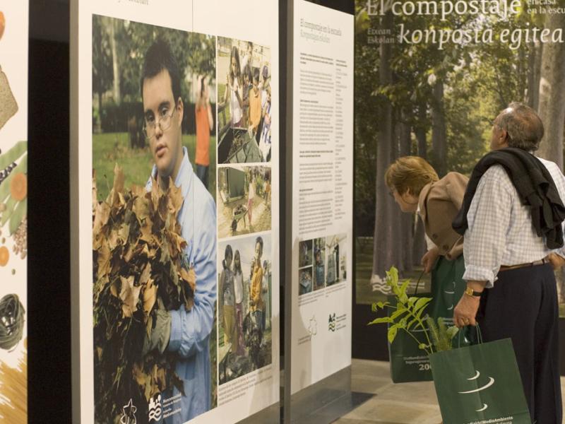 Exposición «El compostaje: en casa, en la escuela»