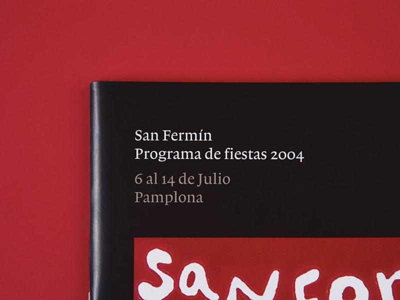 Programa San Fermín 2004