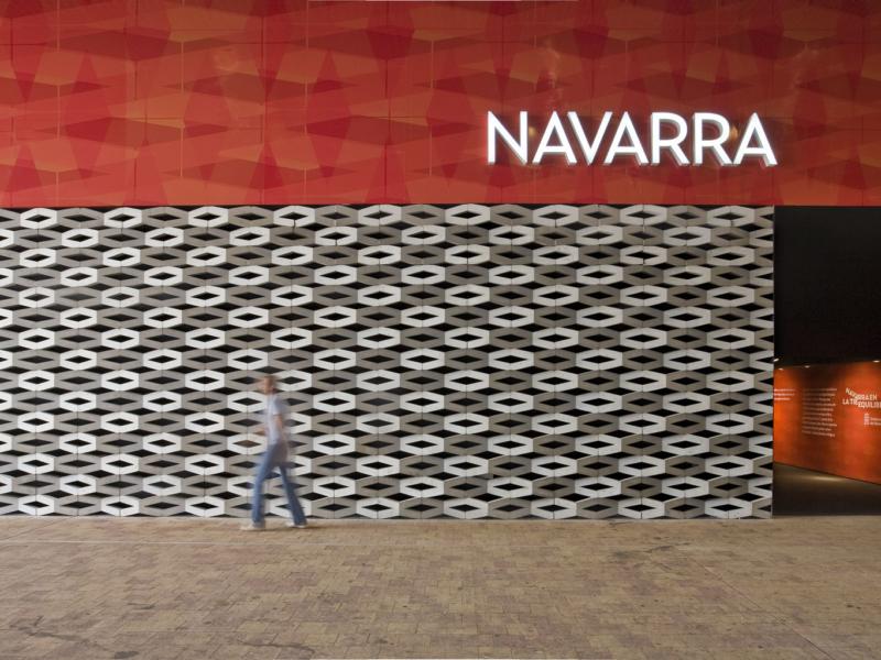 Pabellón de Navarra en la Exposición Internacional Zaragoza 2008